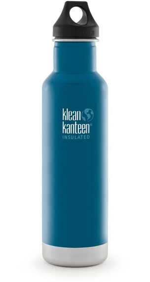Klean Kanteen Classic Vacuum Insulated 20oz (591 ml) Winter Lake